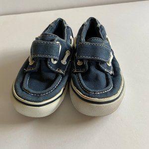 Boys size 7 Sketchers Boat Shoes